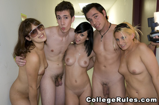 college rules porn