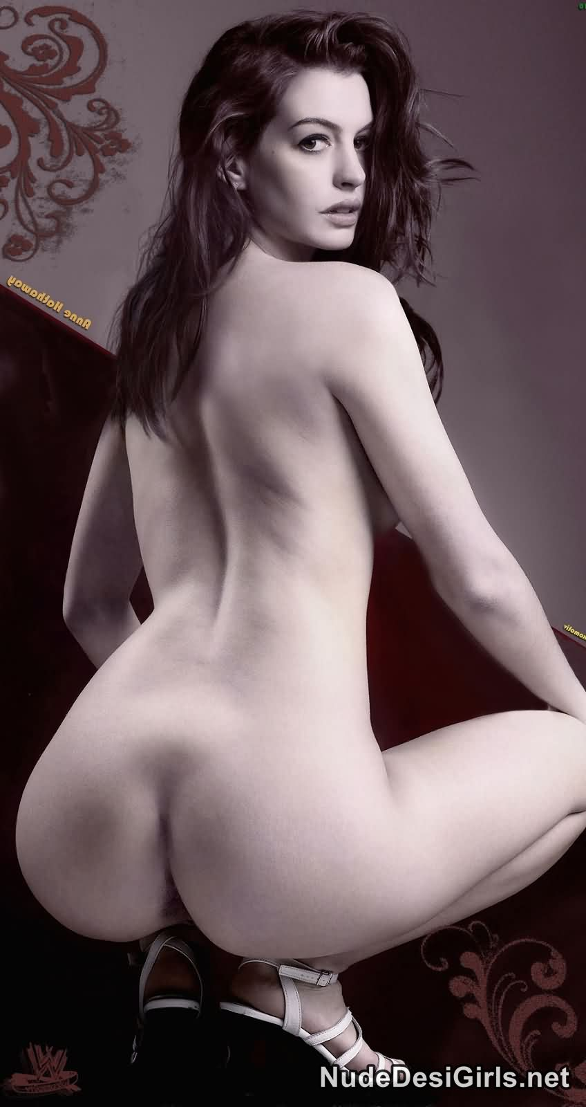 anne hathaway butt naked