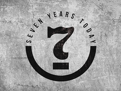 7 years today band