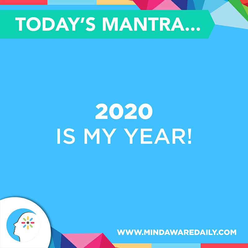 mantra words for 2020