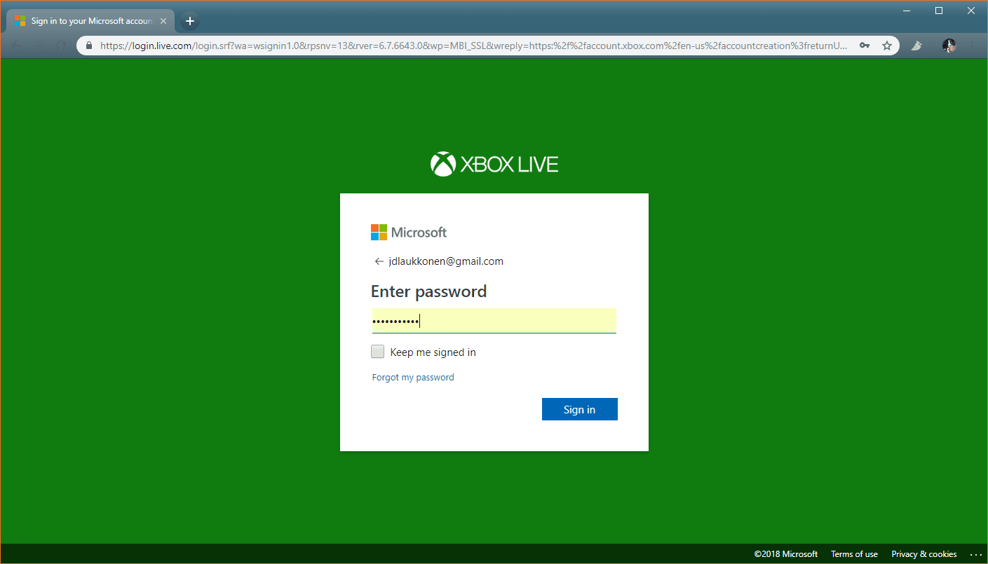 xbox email finder