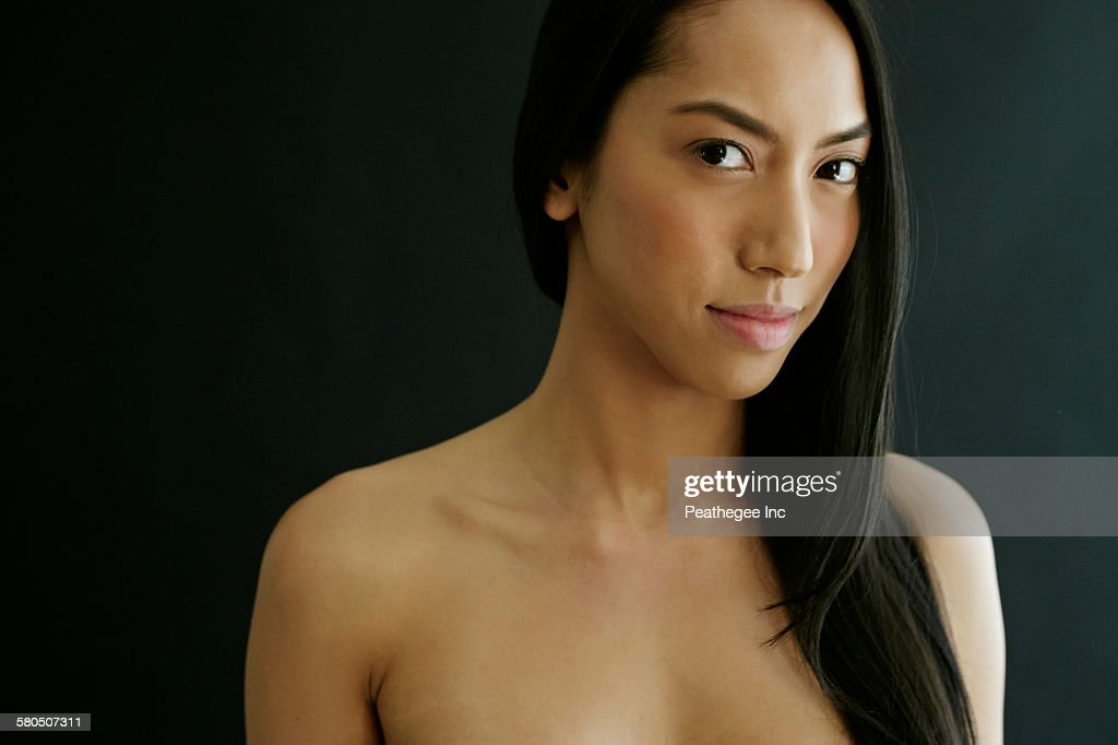 mixed race female nude