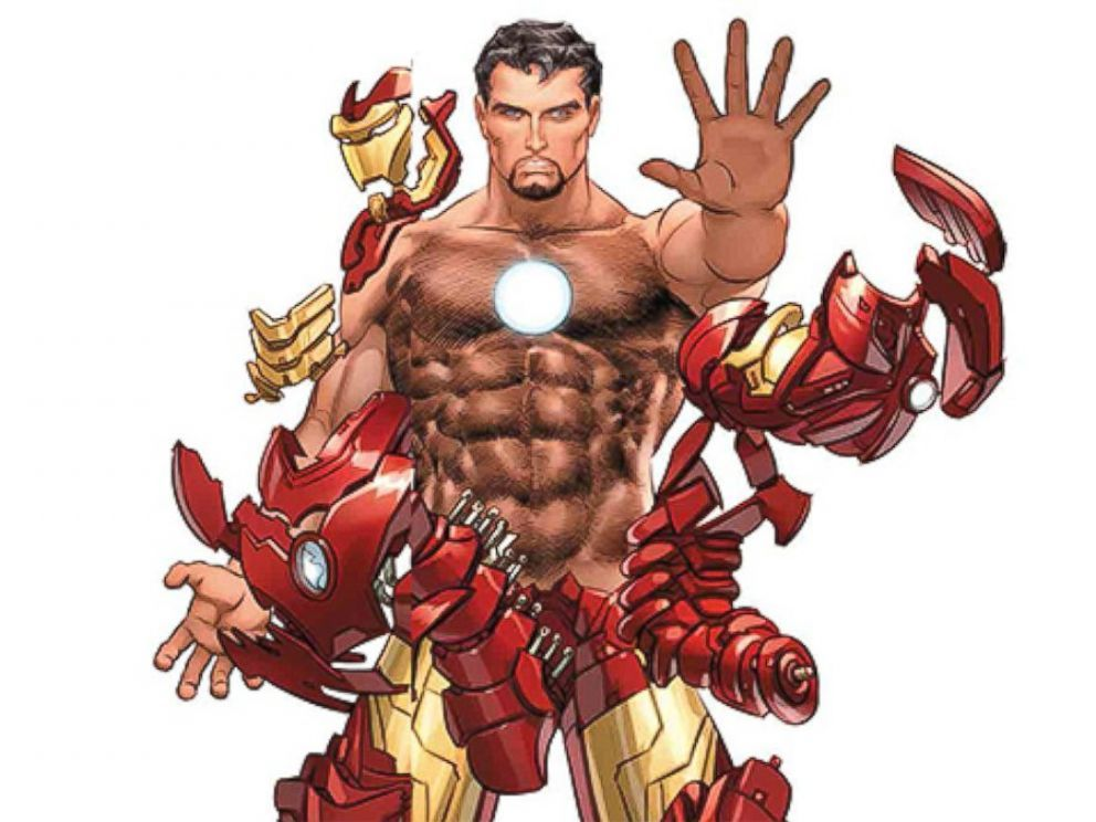 naked real male superheroes