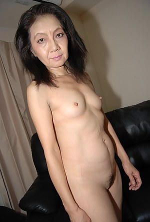 shaved asian granny pic